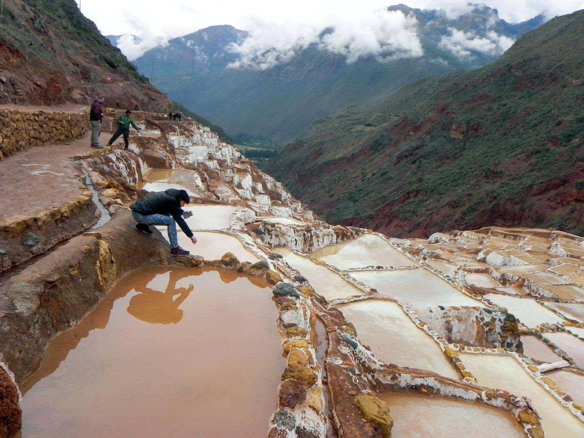 Добыча соли в Перу