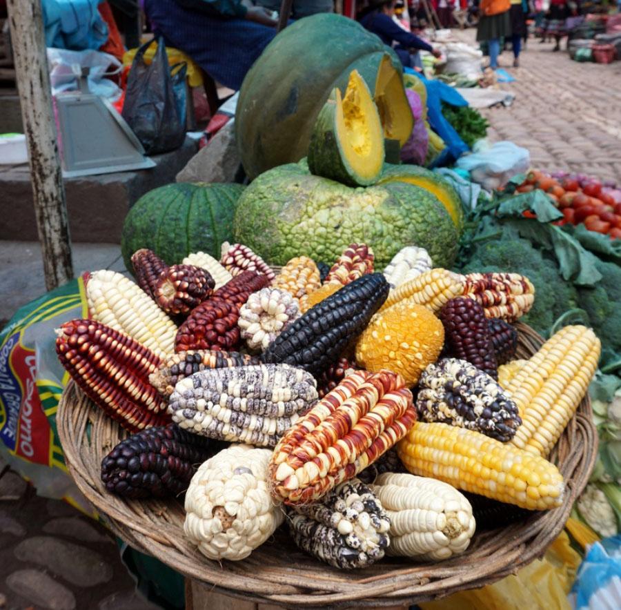 Индейский рынок в Перу