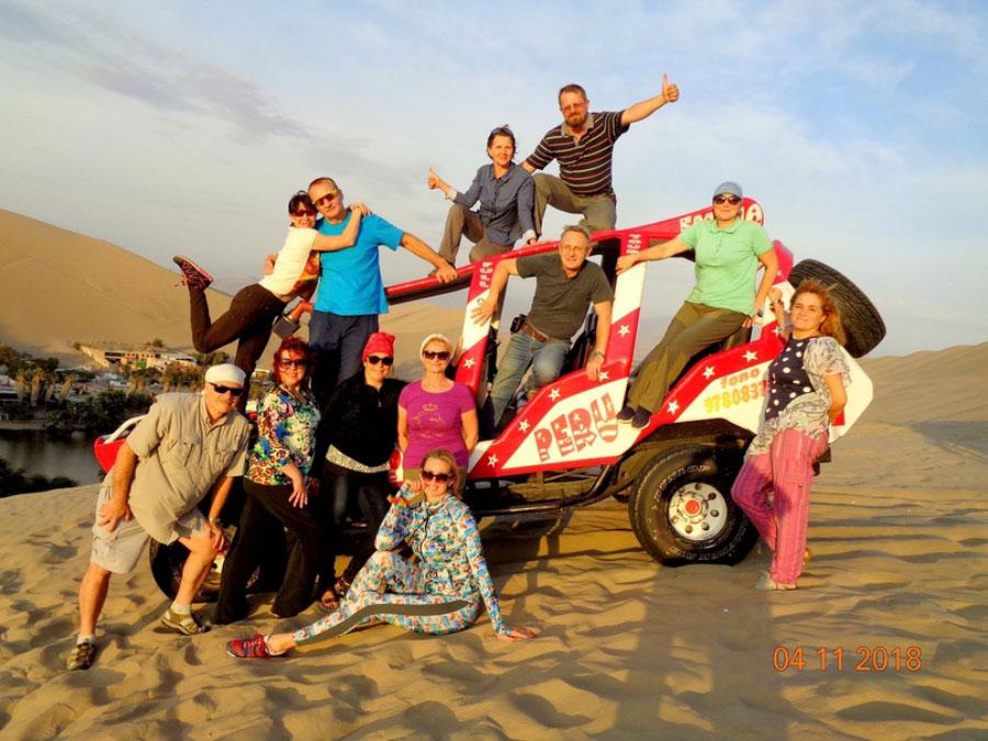 Путешествие на багги по дюнам